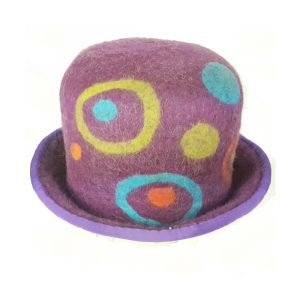 purple party hat funky buy